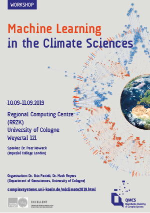 Poster Machine Learning  in the Climate Sciences